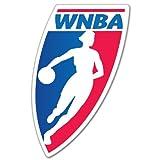 """WNBA Logo Basketball WNBA sticker decal 3"""" x 5"""""""
