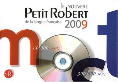 Télécharger sur eMule Le Nouveau Petit Robert - Edition 2009