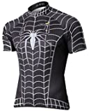The Black Spider Men's Short Sleeve cycling jersey