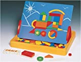 Magnetic Shapes (84 Pieces!) & Board! - Affordable Gift for Your Little One! Item #LMI...