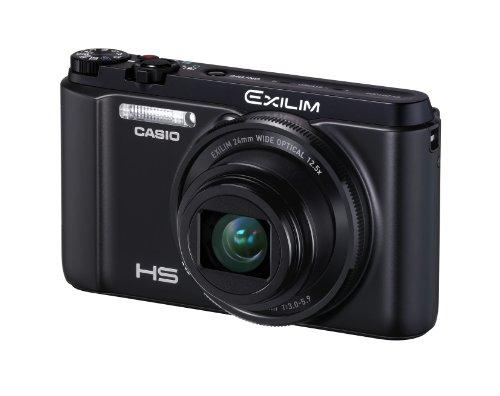 CASIO デジタルカメラ EXILIM ZR1000 ブラック 高速連写 ハイスピード 快適シャッター EX-ZR1000BK