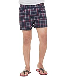 Twist Mens Checks 100% Cotton Boxers For A Cool Summer (Sizes: S,M,L,XL,XXL)