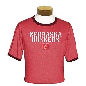 Nebraska Cornhuskers Ringer T-Shirt