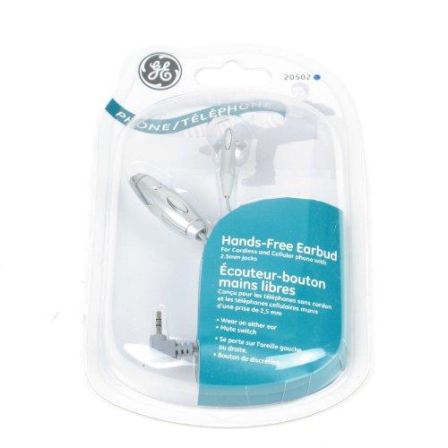 GE Telephone Hands Free Earbud - 20502