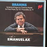 Pieces (6) op.118 Brahms