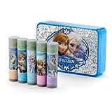 Disney Frozen 5 Piece Lip Balm Set With Carrying Case