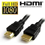 Cable Buddy HDMI Male To HDMI Male Cable TV Lead 1.4V For All HDMI Devices High Speed 3D Full HD 1080p Support...