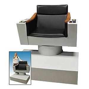 Click to buy Star Trek Bridge Captain's chair from Amazon!