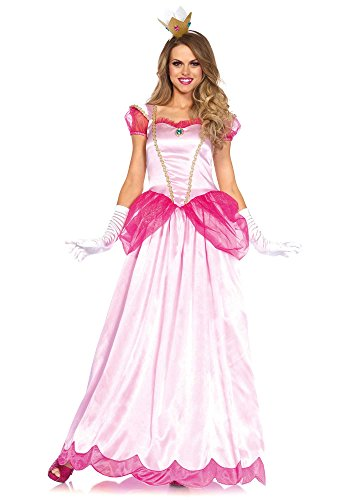 Women's 2 Pc Pink Princess Costume