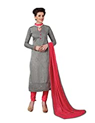 Mantra Fashion New Designer Embroidery Long A-Line Salwar Suit - B016F7ZMKO