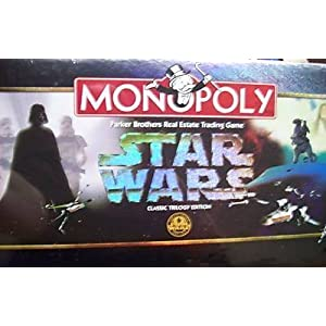 Click to buy Monopoly Star Wars Classic Trilogy Edition from Amazon!