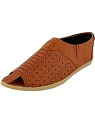 Da-Dhichi Men's Tan Synthetic Sandals