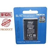 ORIGINAL NOKIA BL-5c BL5c Battery - Seal Pack - 6 Months National Replacement Manufacturer Warranty