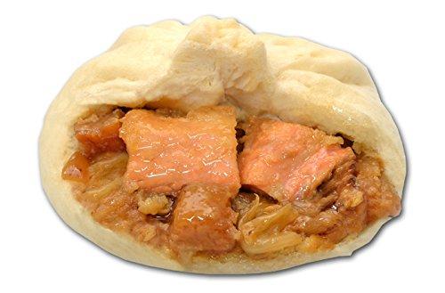 北海道「北のシェフ」なまら鮭チャンまん 8個セット(冷凍)