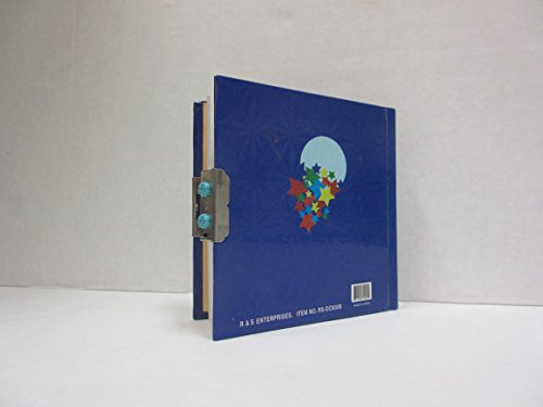 Shoot For The Moon Children's Diary with Combination Lock- Great Diary for Children