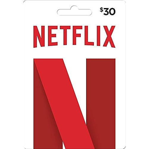 Netflix N Gift Card $30