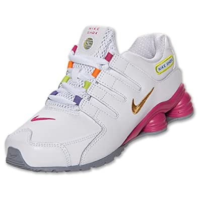 Amazon.com: Nike Shox NZ Girls' Preschool Running Shoes (3