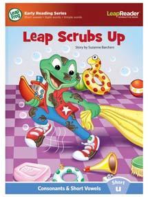 """Leap Scrubs Up"" features short vowel ""u"" sound."