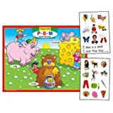 Magnetic P, B, M Initial Sounds Board Game - Super Duper Educational Learning Toy For Kids
