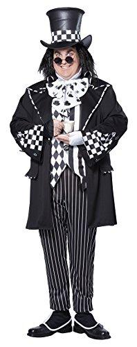 Halloween 2017 Disney Costumes Plus Size & Standard Women's Costume Characters - Women's Costume CharactersCalifornia Costumes Men's Plus-Size Dark Mad Hatter From Alice In Wonderland In Plus, Multi, Plus Size