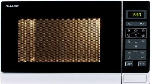 Sharp R-342INW Four Micro-Onde Classique 25 L 900 W Classe: A+++ Gris