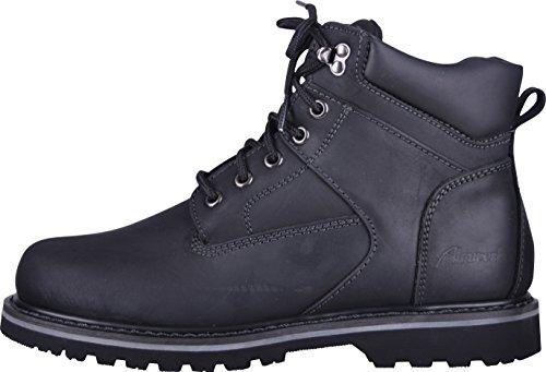 Almwerk Unisex Herbst-Winter-Schuhe Damen und Herren mit oder ohne Fütterung, Farbe:Schwarz;Schuhgröße:42