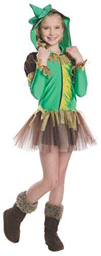 Rubies Wizard of Oz Scarecrow Hoodie Dress Costume,