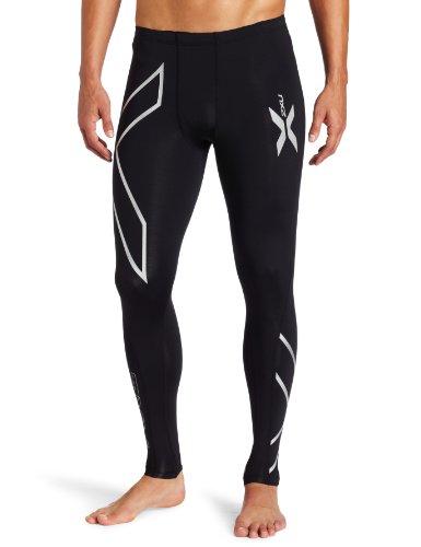 2XU PWX - Mallas de compresión largas para hombre, color negro, talla ST