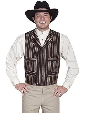 Victorian Men's Vests and Waistcoats Four Pocket Wool Blend Vest  AT vintagedancer.com