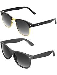 Zyaden COMBO Of Clubmaster Sunglasses & Wayfarer Sunglasses (Combo-97)