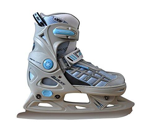 Eiskunstlauf Schlittschuhe für Kinder, Jugendliche, verstellbar BLUE ICE Axer
