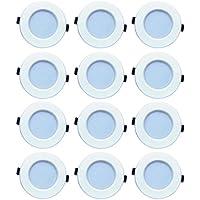 Bene LED 6w Luster Round Ceiling Light, Color Of LED White (Pack Of 12 Pcs)