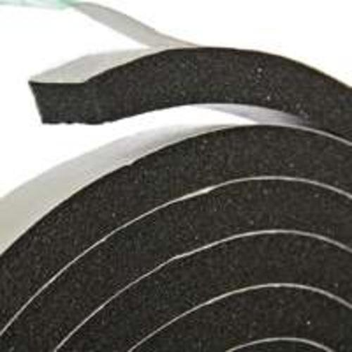 Tape Weather Stripping Sponge Rubber Foam Black
