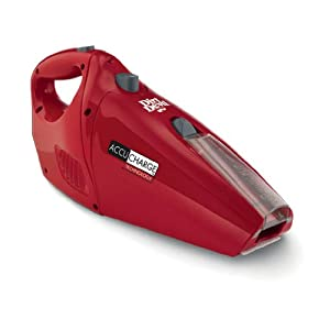 Dirt Devil BD10045RED AccuCharge 15.6 Volt Energy Star Approved Hand Vac - RED