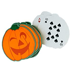 Click to buy Halloween Pumpkin Playing Cards from Amazon!