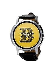 PosterGuy Alphabet D Typography Men's Wrist Watches