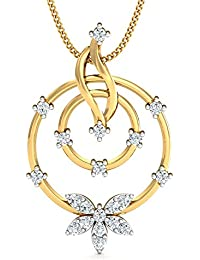 Stylori 18k Yellow Gold And Diamond The Astor Pendant Pendant