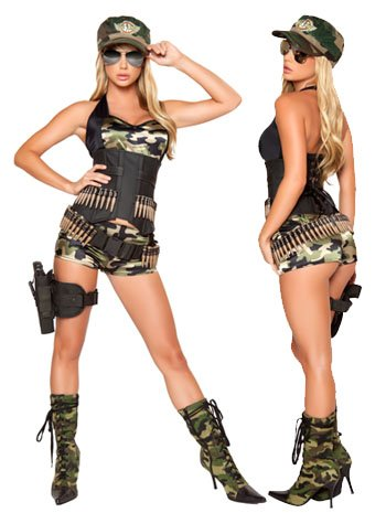 Sexy Soldier Costume