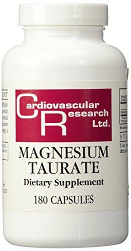 Cardiovascular Research - Magnesium Taurate, 125 mg, 180 cap