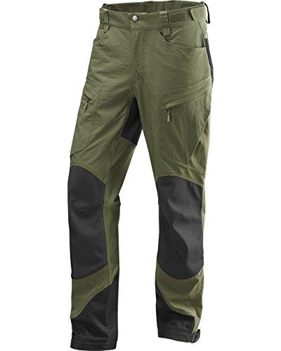 Haglöfs Robuste Hose Rugged II Mountain Pants Men F15 - Pantalones para hombre, color multicolor (juniper/true black short), talla l