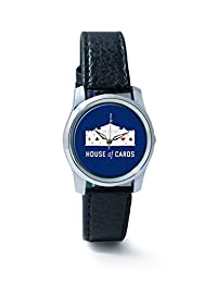 PosterGuy House Of Cards Analog Women's Wrist Watch-2464037736-RS2-S-BLK