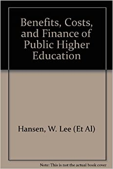 Benefits, costs, and finance of public higher education