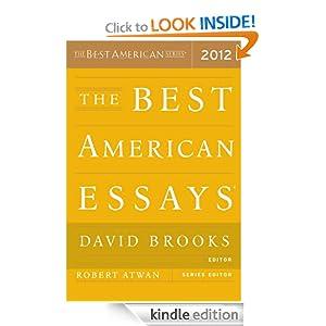 The best american essays 2012 david brooks