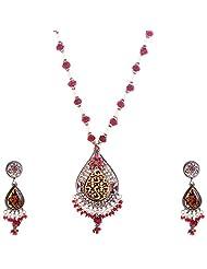 Kisan Jewellers Designer Necklace Set For Women (PSAN/62)