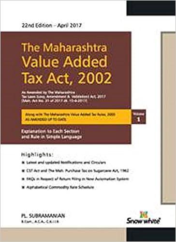 Maharashtra Value Added Tax Act 2002