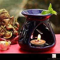 Shiv Enterprises Premium Aroma Diffuser With Aroma Oil And Tealight