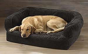 Amazon.com : Orvis Lounger Deep Dish Dog Bed / Medium Dogs