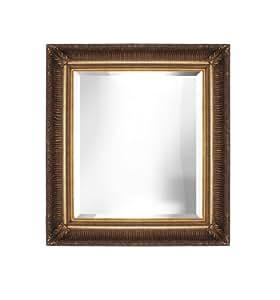 Amazon.com - Decorative Gold Bevelled Wall Mirror 36x48 ...
