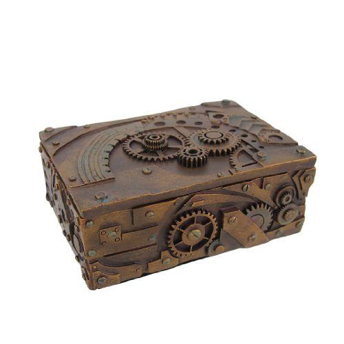 Steampunk Mechanical Jewelry/Trinket Box