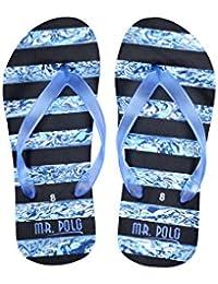Mr. Polo Royal Blue Flip Flops